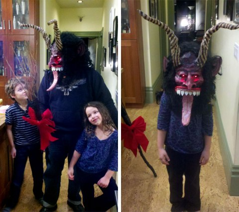 Passing on the Krampus mantle.