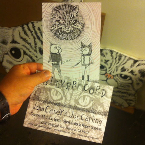 Cool invite designed by Jon Carling