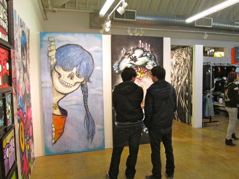 Zoltron (left), Daryll Pierce (right)