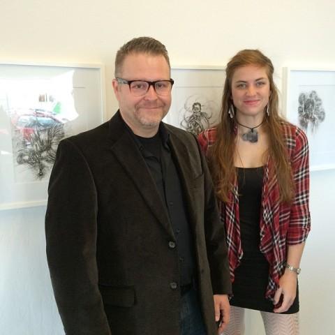 Me and Ashley Hinceman