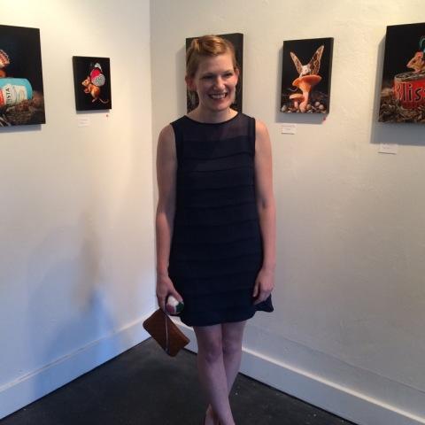 Lisa Ericson and her terrific paintings
